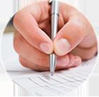 4.签订合同,交付定金